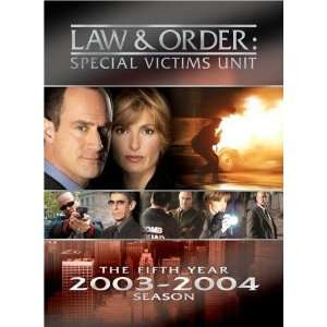Law & Order Special Victims Unit The Fifth Year DVD Box