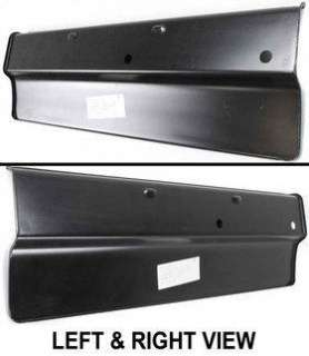 New Bumper Filler Primered Chevy Suburban Silverado Pickup RH