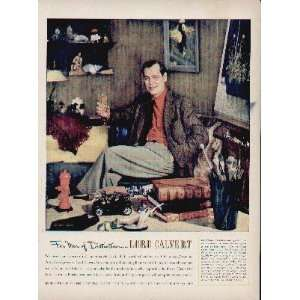 Calvert.  1951 Lord Calvert Whiskey Ad, A5187.