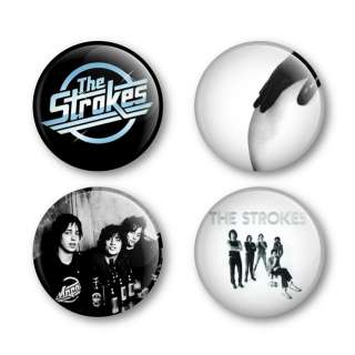 The Strokes Badges Buttons Pins Tickets Shirts Albums
