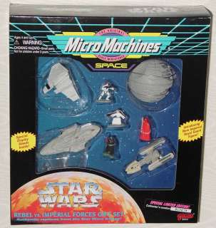 STAR WARS MICRO MACHINES 3 GIFT SETS REBEL VS IMPERIAL FORCES IMPERIAL