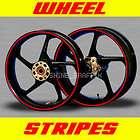 SUZUKI Wheels rim stipe decal tape GSXR 600 750 1000 GS stripes