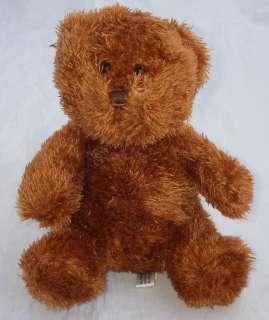 Steven Smith Plush Brown Copper Teddy Bear Sits 8 Tall
