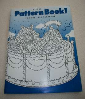 ~ 1993 WILTON YEARBOOK   PATTERN BOOK for CAKE DECORATING
