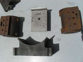 SCALE STEAM LOCOMOTIVE CYLINDER PARTS LOT LIVE STEAM ENGINE