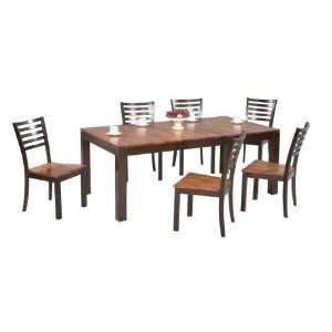 Leg Dining Table by Winners Only   Two Tone Wood (DFA4278) Home