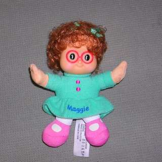 FISHER PRICE LITTLE PEOPLE MAGGIE SOFT / VINYL 5.5 DOLL