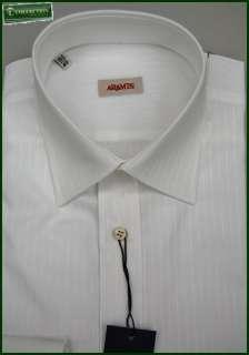 Camicia classica elegante uomo Aramis cotone collo italiano bianca a