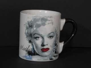 Marilyn Monroe Black and White Seductress 12 oz. Mug