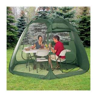 NEW Portable 12 Pop up Screen House Room Camping Tent