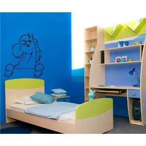 Cartoon Pony Horse Baby Room Nursery Wall Vinyl Sticker