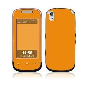 Simply Orange Decorative Skin Cover Decal Sticker for Samsung Instinct