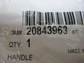 Chevy GMC Colorado Canyon Parking Brake Release Handle OEM GM (C21 3z