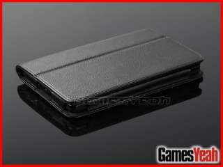 Black F Kindle Fire PU leather Case Cover/Car Charger/USB Cable/Stylus