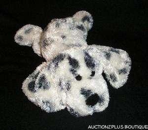 AURORA PEOPLE PALS BLACK WHITE SPOTTED FLOPPY PUPPY DOG PLUSH