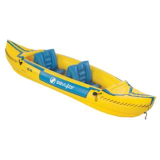 SEVYLOR Tahiti Classic Inflatable 2 Person Kayak Boat 000765010398