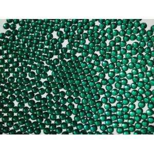 SS4 (1.6mm) Emerald Green Flatback Rhinestone / Crystal