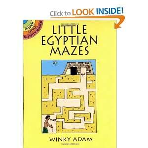 Mazes (Dover Little Activity Books) [Paperback] Winky Adam Books