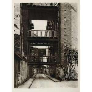 1927 Street Eau de Vie Brandy Shops Cognac France Print
