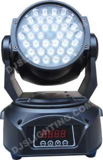 Design Wash LED 36 American Qspot Moving Head Club DJ Stage Lighting