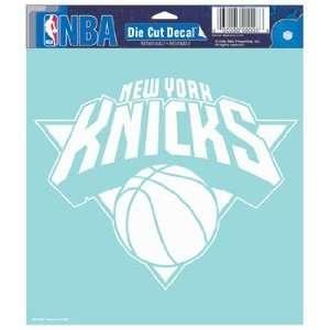 NBA New York Knicks 8 X 8 Die Cut Decal