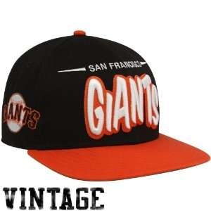MLB New Era San Francisco Giants Black Orange Funky