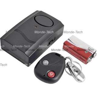 Motorcycle Motorbike Scooter Security Alarm 120db 9V