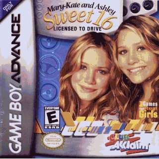 Mary Kate & Ashley Sweet 16 GBA Toys & Games
