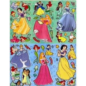 Belle Cinderella Aurora Snow White Jasmine Ariel Beauty & the Beast