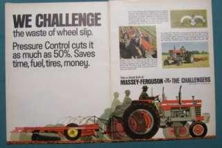 1968 Massey Ferguson Tractor Ad MF 180 WE CHALLENGE