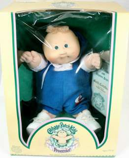Cabbage Patch Kids Doll PREEMIE   COLECO w/ Birth Certificate
