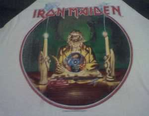 VINTAGE IRON MAIDEN 7th SON OF A 7th SON TOUR   1988 JERSEY SHIRT