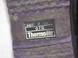 Vtg 80s Rubber Thermolite Duck Rain Snow Boots 7 Womens
