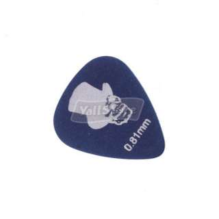 New 24 Pieces Alice Frosted Nylon Color Guitar Picks