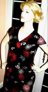 New Designer Fusion Black Red Evening Dress Shalwar Kameez Indian Sari