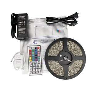 LED Lighting Strip Kit RGB 16.4ft, 3528kit Patio, Lawn & Garden