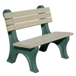 Polly Products Park Classic 4 ft. Commercial Grade Armless