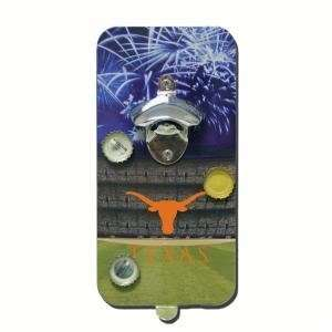 Texas Longhorns Click N Drink Magnetic Bottle Opener