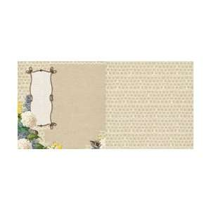 Websters Pages Yacht Club Double Sided Paper 12X12 Sandy