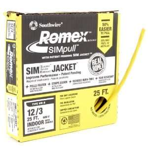Romex Building Wire, NM B 12/3 25 Home Improvement
