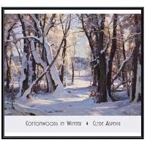 /Winter   Artist: Clyde Aspevig  Poster Size: 31 X 27: Home & Kitchen