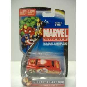 Marvel Universe Iron Man Diecast Car Collection