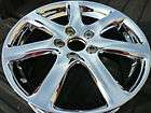 Acura TSX 17 chrome factory wheel OEM new rim non repaired H# 71731