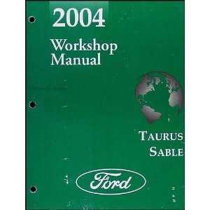 2004 Ford Taurus & Mercury Sable Repair Shop Manual