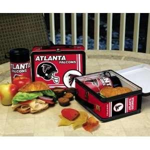Atlanta Falcons Memory Company Team Lunch Box NFL Football