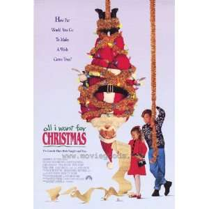 All I Want For Christmas Poster 27x40 Thora Birch Leslie