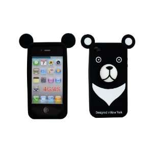 Silicone Cover Soft Case Skin for Apple iPhone 4 4S Balck Electronics