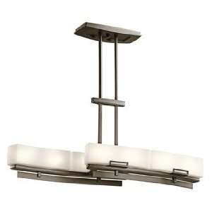 Leeds Collection 8 Light 17 Shadow Bronze Finish Linear