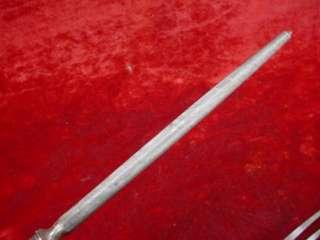 STAG Deer Horn Handle CARVING SET FORK KNIFE SHARPENER Steel