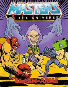 HE MAN MASTERS OF UNIVERSE MOTU MINI COMIC CLASH ARMS